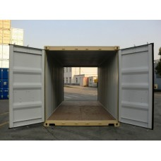 20' Standard 1-trip Double Door Container AS IS