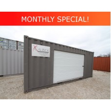 20' Basic Container with 10' Roll-up Door
