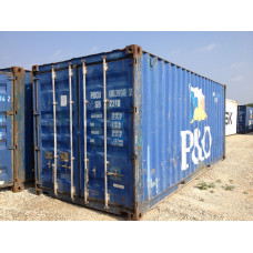 20' Standard Wind & Water Tight Container AS IS