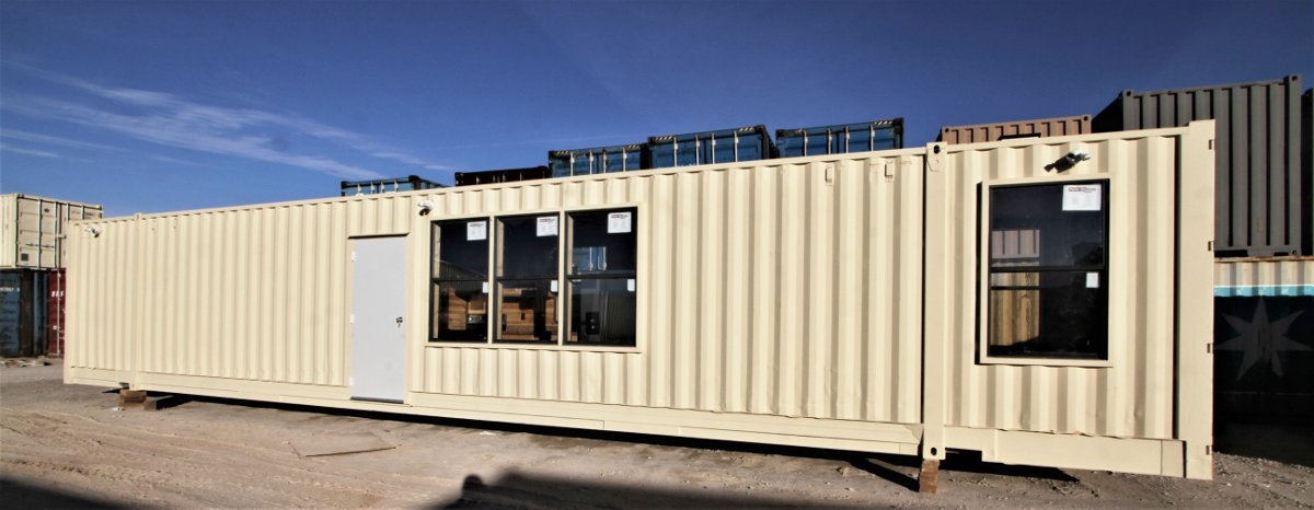 40 ft. steel container mobile office