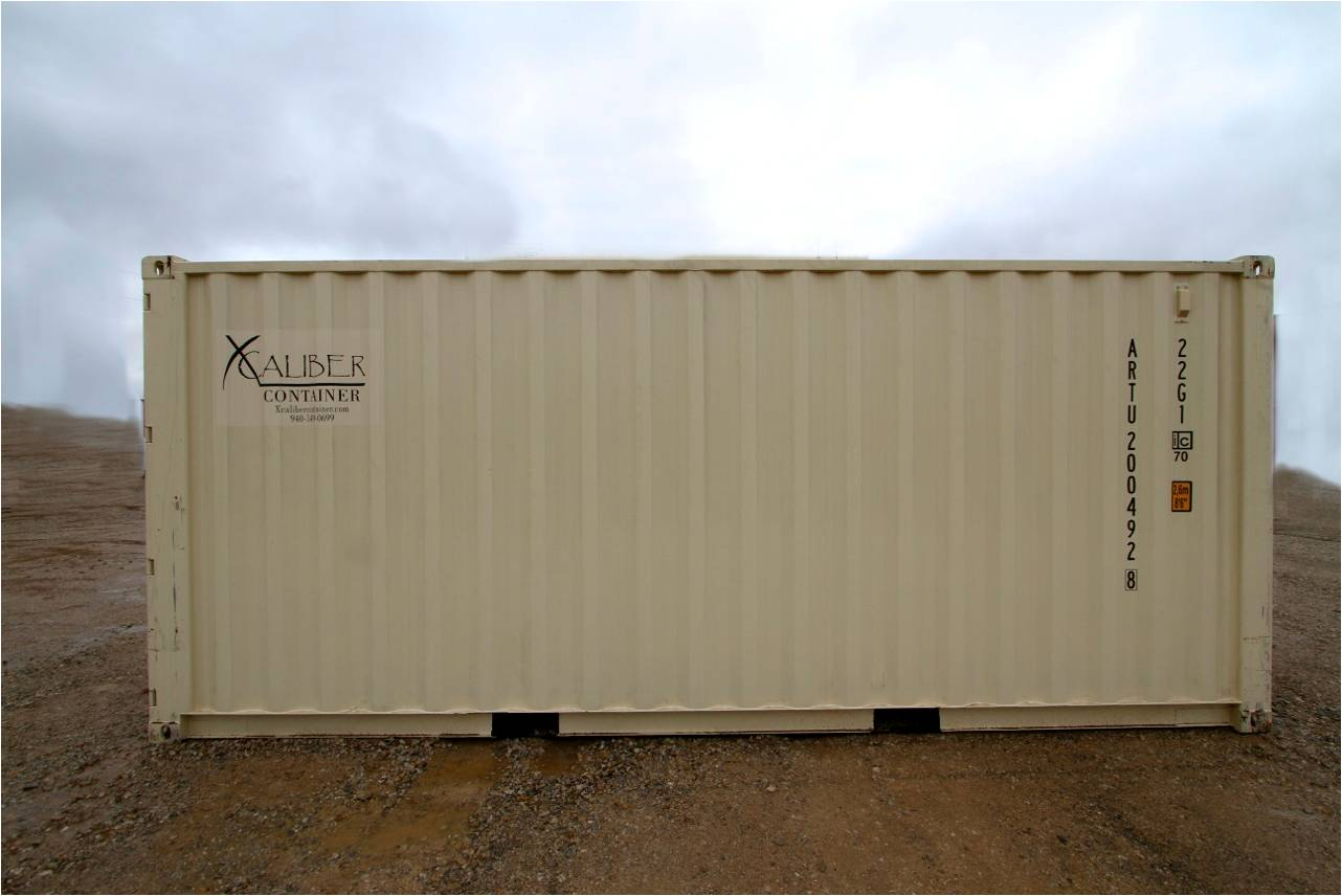 20 ft standard container