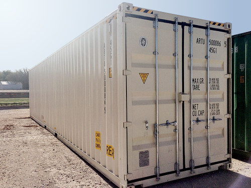 40 ft standard double door container