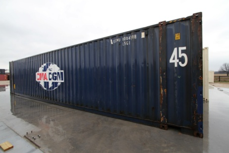 45 ft high cube container
